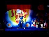 Танец посвящённый 10 Инкарнациям Шри Вишну - танцует Ася Охотина - концерт на Международной Рождественской Пудже в Киеве. 31.12.